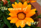 The season of Easter graphic